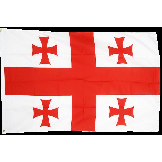 Резултат с изображение за знамето на грузия