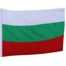 Знаме на България с джоб за дръжка.