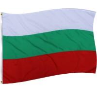 Знаме на България с лента 150х90 см.