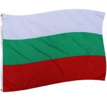 Знаме на България с лента 215х129 см.