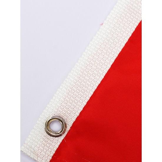 Комплект знамена на България и ЕС с лента 215х129 см.