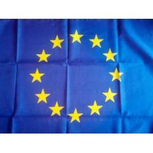 Знаме на Европейски Съюз с лента 150х90 см.