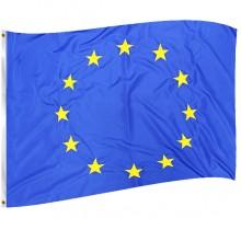 Знаме на Европейски Съюз с лента